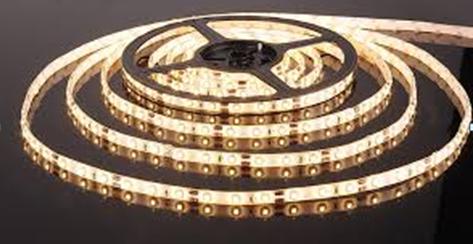 Светодиодная лента 5м LED 3528 White 60R WW Теплый белый, фото 2