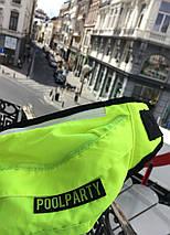 Неоновая сумка на пояс POOLPARTY Bumbag, фото 3