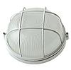 Светильник антивандальный с решеткой для ЖКХ с решеткой BL-1302 белый круг