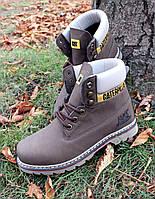 Мужские ботинки осень-зима CATERPILLAR  ткань: утепленный флисовый подклад Отличное качество Tурция