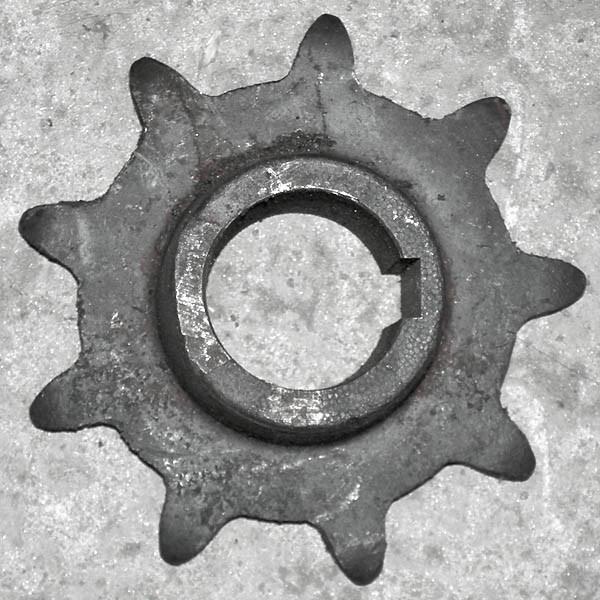 Звездочка z=9 t=38,0 под шпонку РСМ-10.08.07.102А -01
