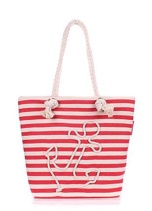 Коттоновая сумка с якорем POOLPARTY, фото 2