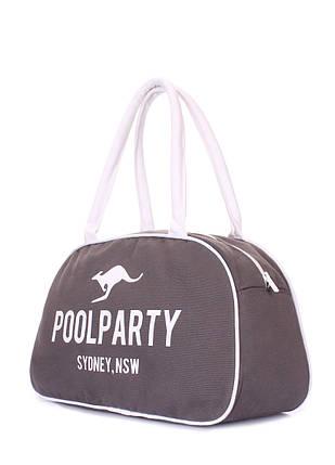Коттоновая сумка-саквояж POOLPARTY, фото 2