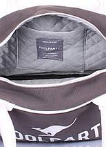 Коттоновая сумка-саквояж POOLPARTY, фото 3