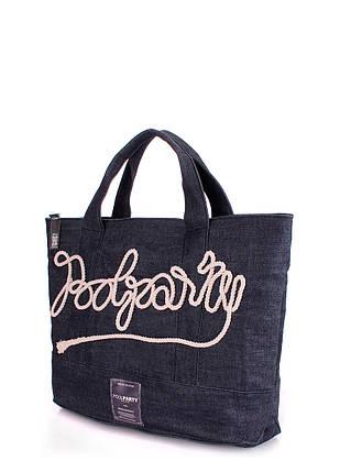Джинсовая сумка POOLPARTY, фото 2