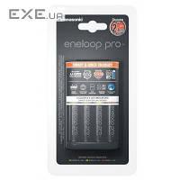 Зарядное устройство Smart-Quick Charger+Eneloop Pro 4AA 2500 mAh NI-MH (K-KJ55HCD40E)