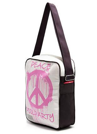 Сумка POOLPARTY Peace с ремнем на плечо, фото 2
