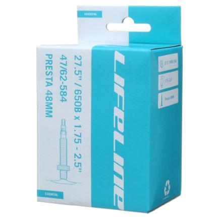 Велосипедная камера LifeLine 27,5 x 1.75/2.5 (Presta 48мм)