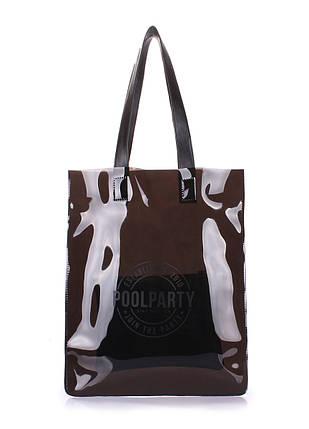 Прозрачная сумка POOLPARTY Toxic, фото 2