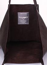 Кожаная сумка POOLPARTY Edge, фото 3
