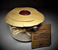 арома свеча эко - ароматерапия массаж- с эфирным маслом Лаванды 160гр Д=8,3см Н=6см