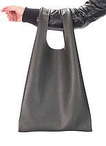 Шкіряна сумка POOLPARTY Tote, фото 3