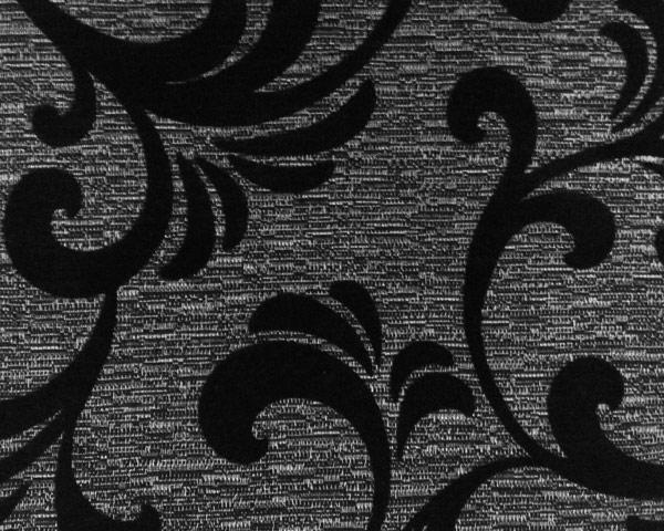 Мебельная шенилловая ткань для обивки Фабия блек Fabia black