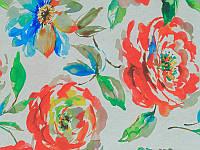 Мебельная ткань для перетяжки дивана Принт Маги кенди Magi candy