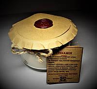 арома свеча эко подарочная- ароматерапия массажная- с эфирным маслом  Корицы 160гр Д=8,3см Н=6см