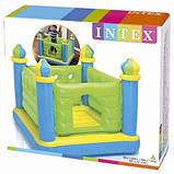 Надувной игровой центр Батут Замок Intex 48257, надувные батуты, активные игры, фото 3