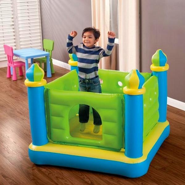 Надувной игровой центр Батут Замок Intex 48257, надувные батуты, активные игры