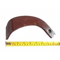 Нож фрезы (почвофрезы тракторной) левый 22 см, фото 1
