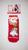 Новогодние носки детские  зимние махровые внутри хлопок турция размер 5-6лет(5)