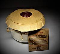 арома свеча ЭКО- ароматерапия/массаж- с эфирным маслом Розового дерева 160гр Д=8,3см Н=6см