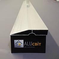 Правило  трапециевидное алюминиевое строительное