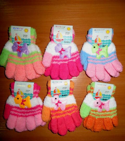 """Детские перчатки Aura.via   4/7,8/12 лет. - Интернет-магазин модной одежды """"KINDER KIDS"""" в Кропивницком"""