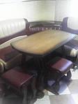 Стол с 4 табуретками Цезарь, фото 2
