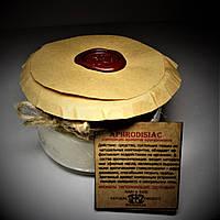 арома свеча ЭКО- ароматерапия/массаж- композиция  эфирных масел Афродизиак 160гр Д=8,3см Н=6см