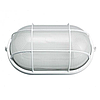 Светильник антивандальный с решеткой для ЖКХ BL-1202 белый овал