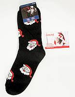 """Новогодние носки мужские , зимние, махровые внутри, хлопок """"Стиль Люкс"""" 41-44"""