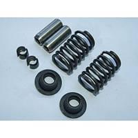 Клапанный механизм комплект ( пружины,тарелки,сухари,направл) R190
