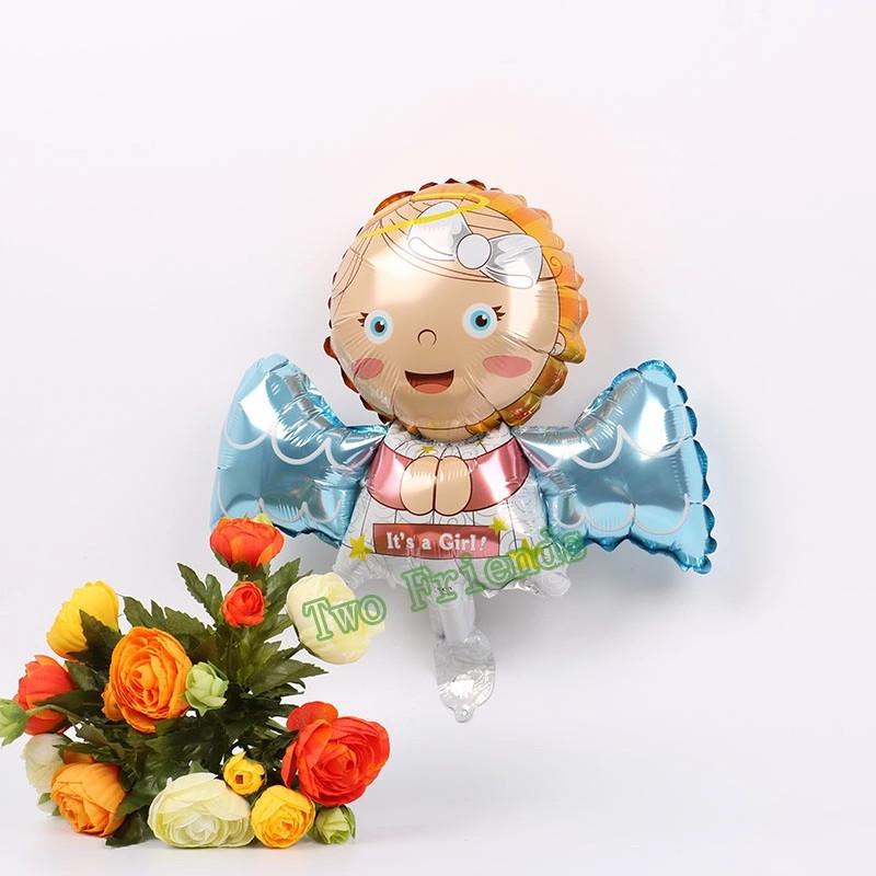 Воздушный шар ангел девочка 45 см