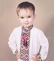 """Вышиванка """"Добробут"""" с длинным рукавом для мальчика"""