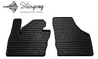 Резиновые коврики Stingray Стингрей Ауди КУ3 2011- Комплект из 2-х ковриков Черный в салон. Доставка по всей Украине. Оплата при получении