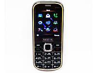 """Телефон Nokia 3720с (копия) - 2Sim + 2,2"""" + BT + Camera + FM - металлический корпус"""