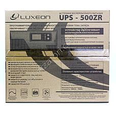LUXEON UPS-500ZR - Кращий безперебійник для котла - ДБЖ, фото 3