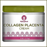 PipingRock Collagen & Placenta Night Cream 4 oz (113 g) Jar