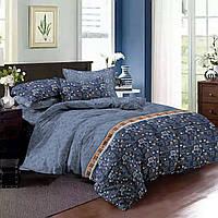 Двуспальный комплект постельного белья евро 200*220 сатин (7511) TM KRISPOL Украина