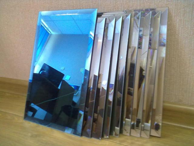 Плитка зеркальная с фацетом 25 мм