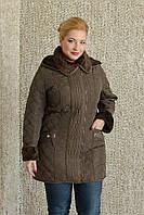 Женская весення куртка больших размеров, фото 1