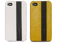 Чехол для iPhone 4/4S - iMOBO leather cover
