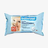 Babylove Детские влажные очищающие салфетки 80 шт.