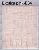 Панель пластиковая 250*5950*5мм Exotica pink E34