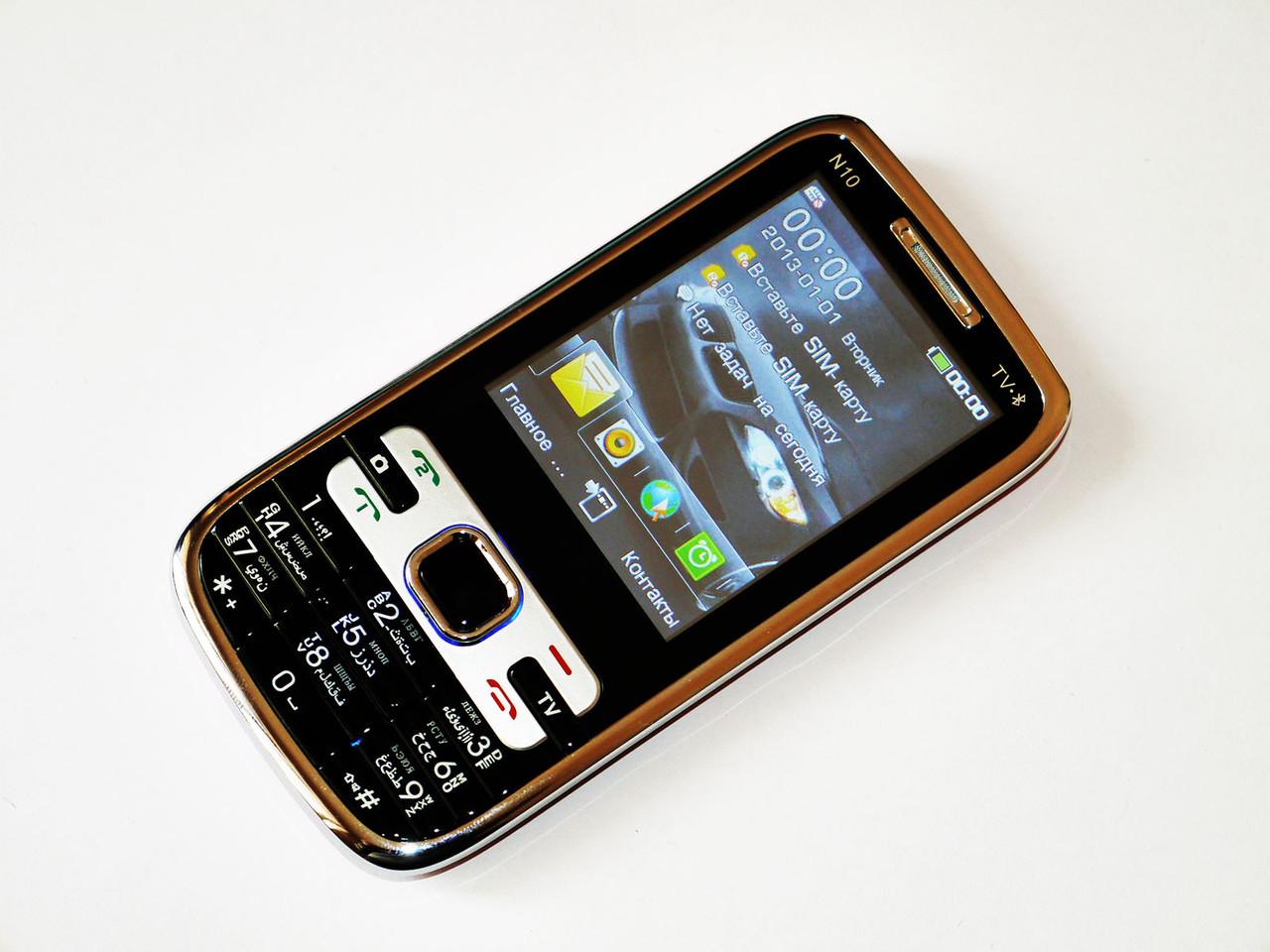 "Телефон DONOD Keepon N10 - 2.8""  -  2SIM+TV+ FM+ bluetooth!"
