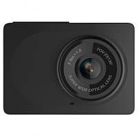 ►Видеорегистратор Xiaomi Yi Smart Dash camera Black автомобильный с креплением и питанием (Китайская версия)
