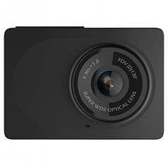 ►Видеорегистратор Xiaomi Yi Smart Dash camera Черный автомобильный с креплением и питанием (китайский язык)