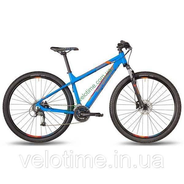 "Bergamont 27,5"" Revox 3.0 2018 год (44,5 см, синий-оранжевый)"