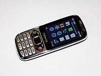 """Телефон Nokia Q007 - 2Sim + 2,4"""" + Cam + BT +FM - металлический корпус, фото 1"""