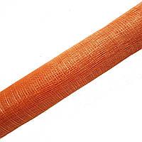 Синамей Оранжевый сетка для шляп, цветов, декора, поделок 9 м