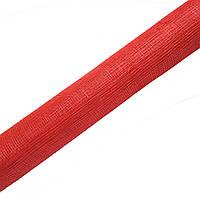 Синамей Красный сетка для шляп, цветов, декора, поделок 9 м
